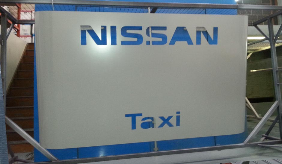 Nissan motors sign